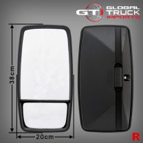 Hino Combination Mirror R/H - Dutro 300 Series 2003 to 2010
