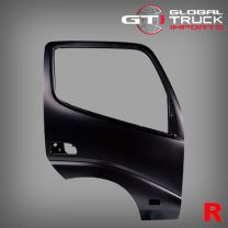 Hino Door Shell R/H (No Reflector) - 300 Series  XZU3 XKU4 XZU4 XKU6 XZU6 2008 On