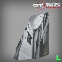 Hino Chrome Corner Panel L/H - 300 Series XJC7 XKU7 XZU7 2012 On