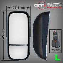 Hino Electric & Heated Mirror L/H - XKU6 XZU6 XJC7 XKU7 XZU7 300 Series 2012 On