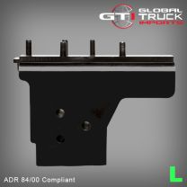 Hino FUPS Bar Chassis Bracket L/H - 500 Series FG FL FM GH 2010 to 2017