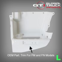 Mitsubishi Step Panel White L/H - Fighter FK FM FN 2008 On