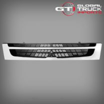 Mitsubishi Grille White (Bar Type) - Fighter FM FN 2011 On
