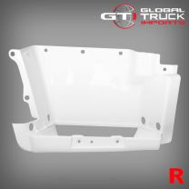 Mitsubishi Step Panel White R/H - Fighter 1996 to 2007