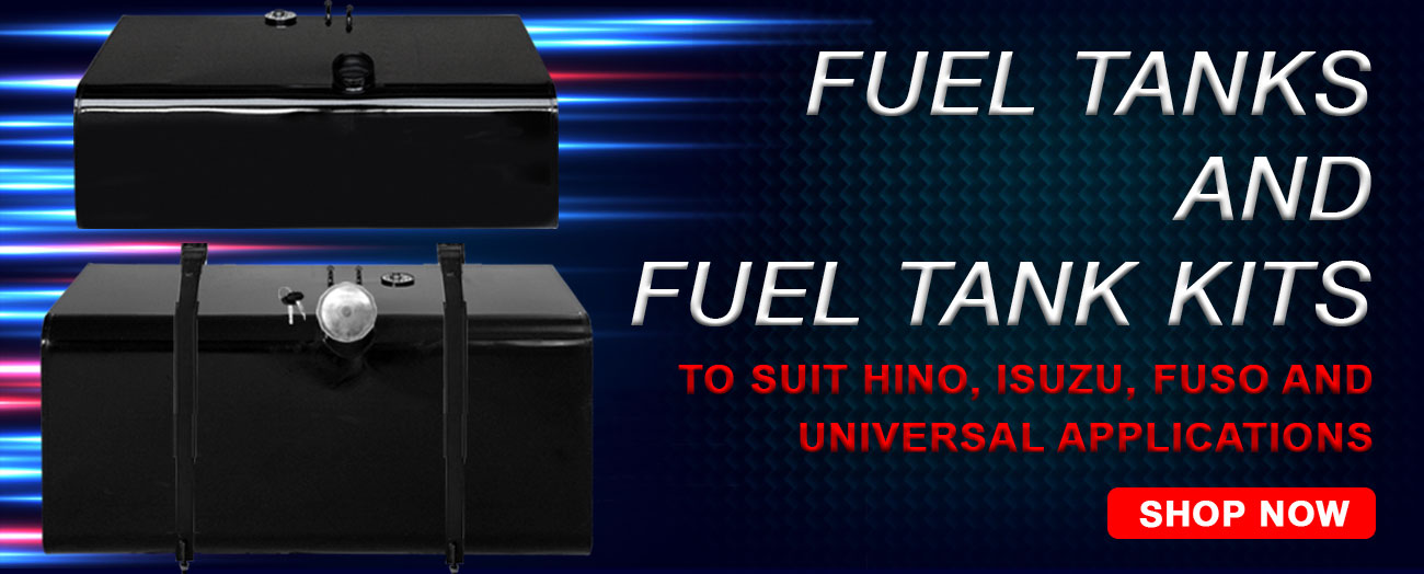 Fuel Tanks and Fuel Tank Kits - Hino, Mitsubishi Fuso, Isuzu and Universal