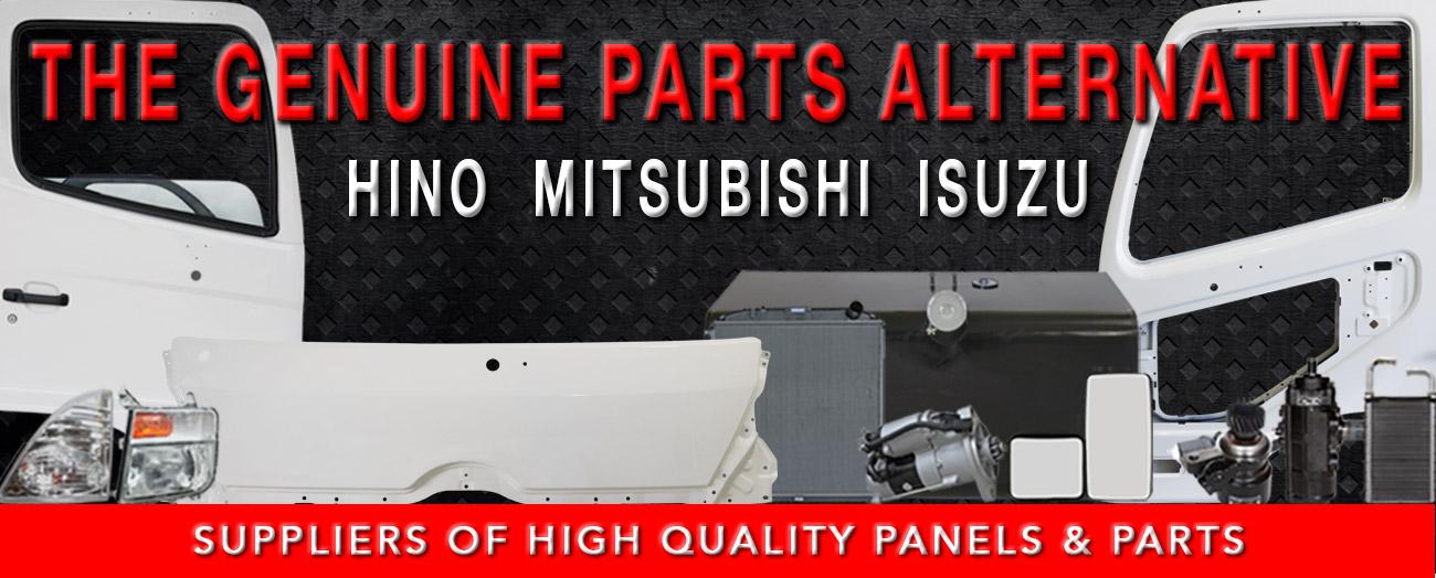 Hino, Isuzu & Mitsubishi Fuso Truck Parts & Panels