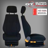 Nissan UD Drivers Air Suspension Seat Black - MK PK 1997 to 2010