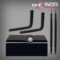 Universal Diesel Fuel Tank Kit 165 Litre - Hino 500 Series Square Style