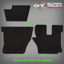 Hino Rubber Floors Mats - Pro 500 Series 2003 On